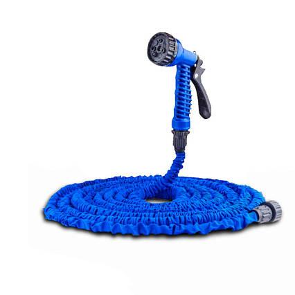 Шланг садовий поливальний з розпилювачем IntexPool 87533, довжиною 15 м, синій