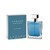 Туалетная вода Azzaro Chrome United 100ml (лицензия)