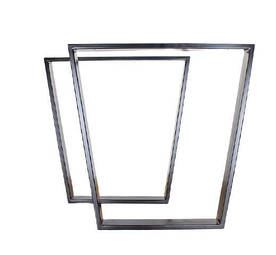 Ніжки для столу металеві Трапеція EK Loft Н 0002 2 шт Чорні