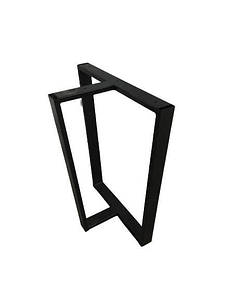 Ніжки для столу металеві EK Loft Н 0011 2 шт Чорні
