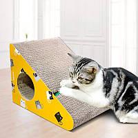 Когтеточка, Дряпки - лежанка з картону для кішок Avko ACS016-YE