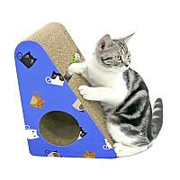Когтеточка, Дряпки - лежанка з картону для кішок Avko ACS016-BL