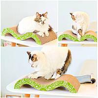 Когтеточка, Дряпки - лежанка з картону для кішок Avko ACS018