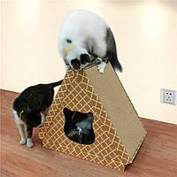 Когтеточка, Дряпки - лежанка з картону для кішок Avko ACS022