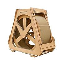 Когтеточка, Дряпки - будиночок з картону для кішок Avko ACS023