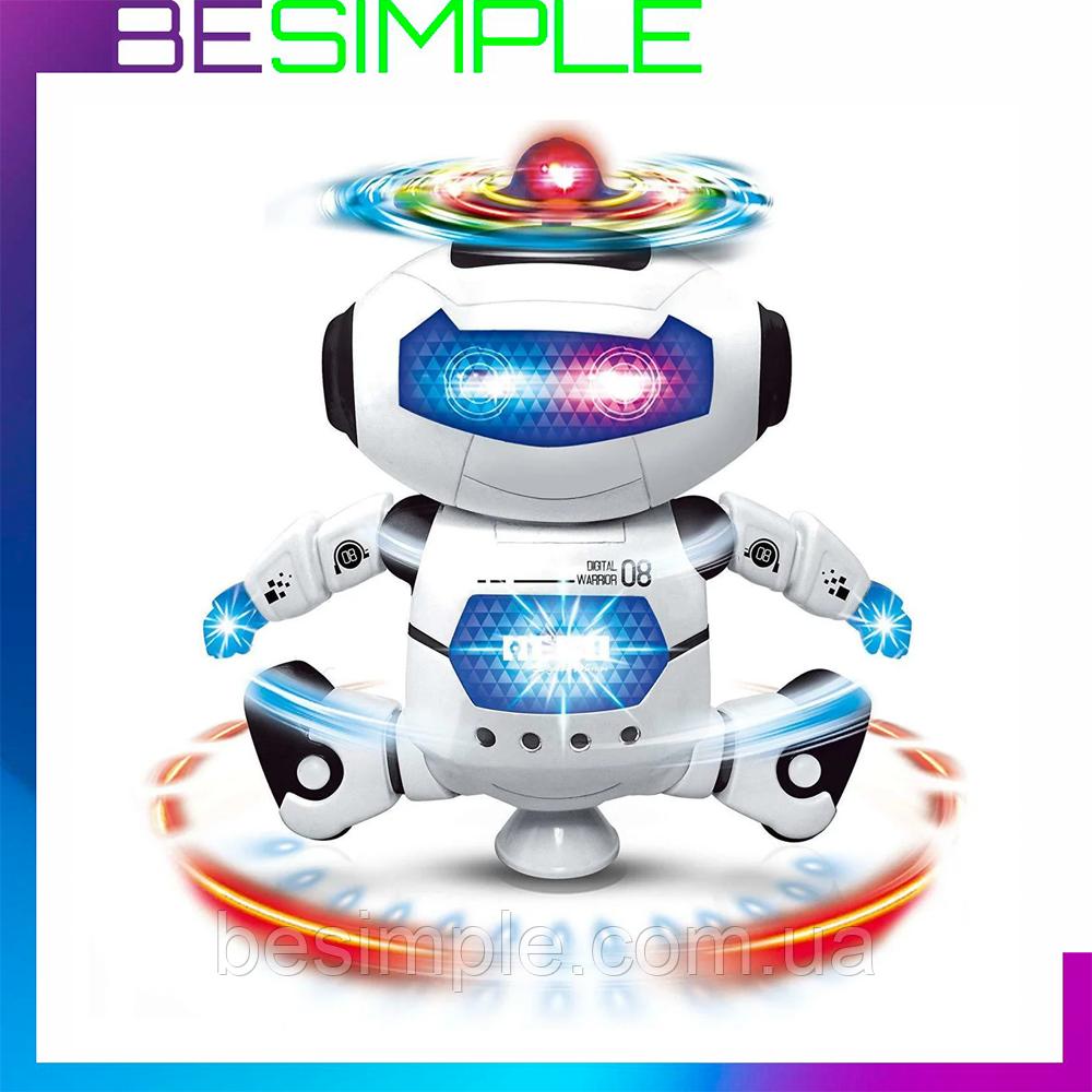 Іграшка танцюючий робот Dancing Robot / Інтерактивний дитячий робот ( 21 x 13 см)