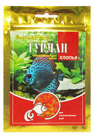 Корм Гурман в хлопьях для взыскательных рыб, 100 мл