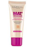 Тональный крем L`Oreal Mat Magique