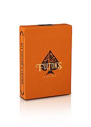 Карты игральные   Ace Fulton's Casino, Vintage Back - Orange