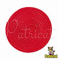 Основа для шляпки, вуалетки круглая плетеная Красная диаметр 11.5 см