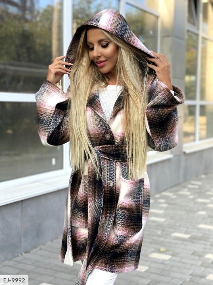 Кашемірове пальто жіноче