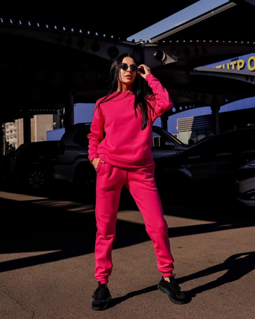 Женский спортивный костюм «Универсальный» на флисе #55