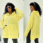 Женское худи с разрезами по бокам, фото 4