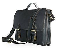 Деловой кожаный портфель 7090A, фото 1