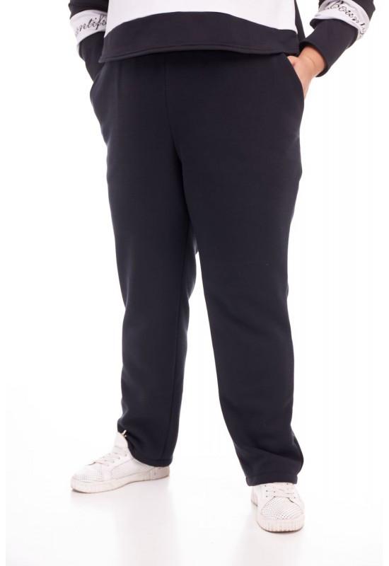 Теплые женские брюки большие размеры  от 66 до 80 большие размеры СУПЕР БАТАЛ