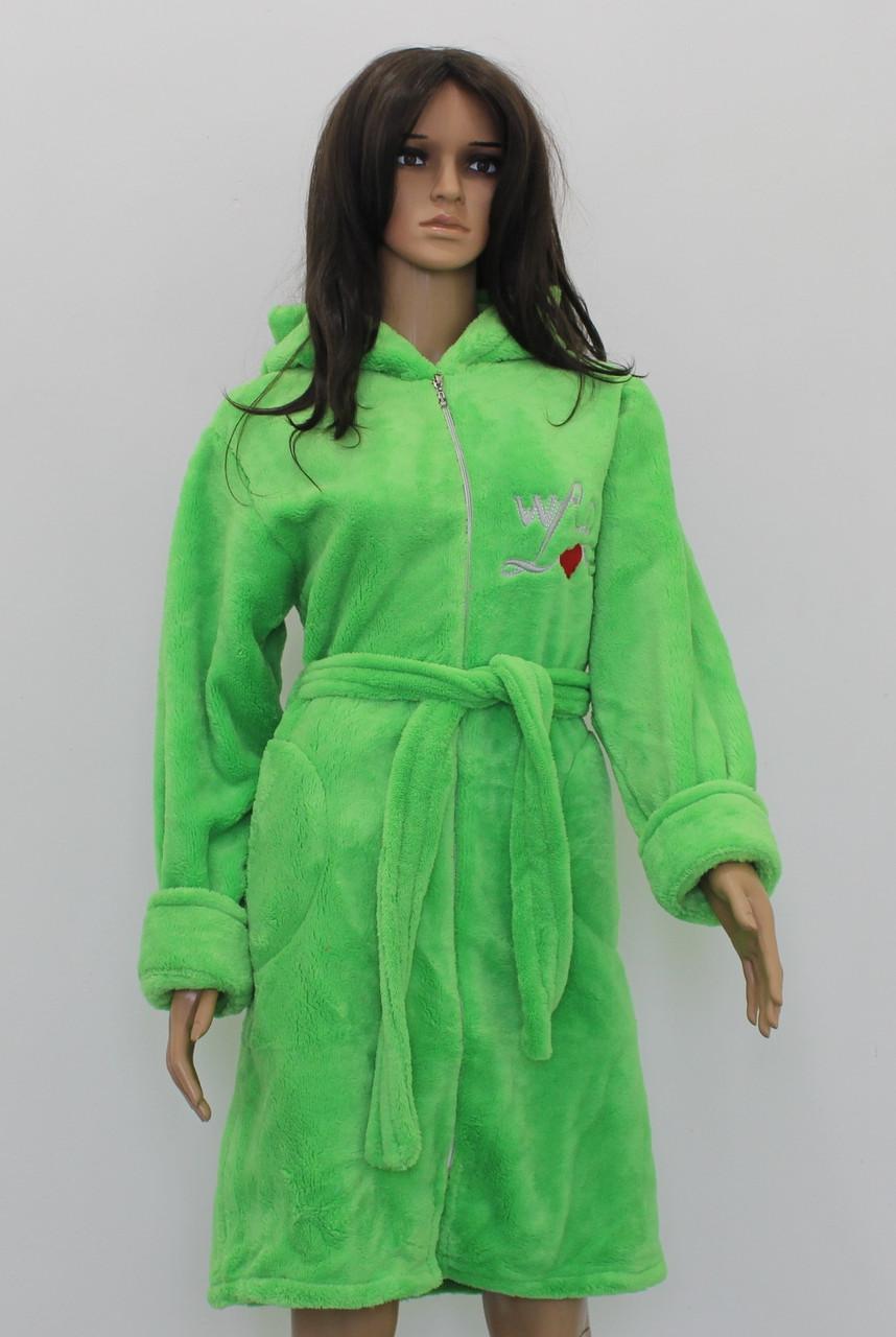 52ebd38e285f4 Женский халат на замочке