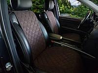 Универсальные автомобильные чехлы-накидки на все сидения алькантара