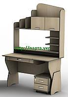 """Стол письменный, компьютерный ТИ-СУ-25 """"Профи"""" светлый, фото 1"""