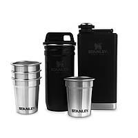 Набір посуду Stanley Adventure (4 чарки, футляр-фляга, фляга 0,236 л) (01883-035)