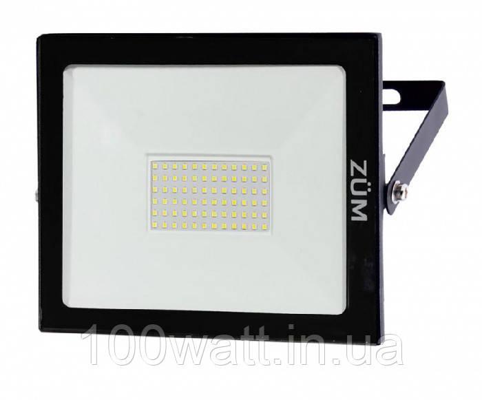 Прожектор светодиодный ZUM 50W 6400K 57044