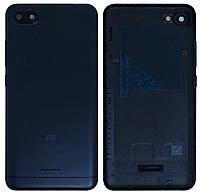 Крышка задняя Xiaomi Redmi 6A Черная