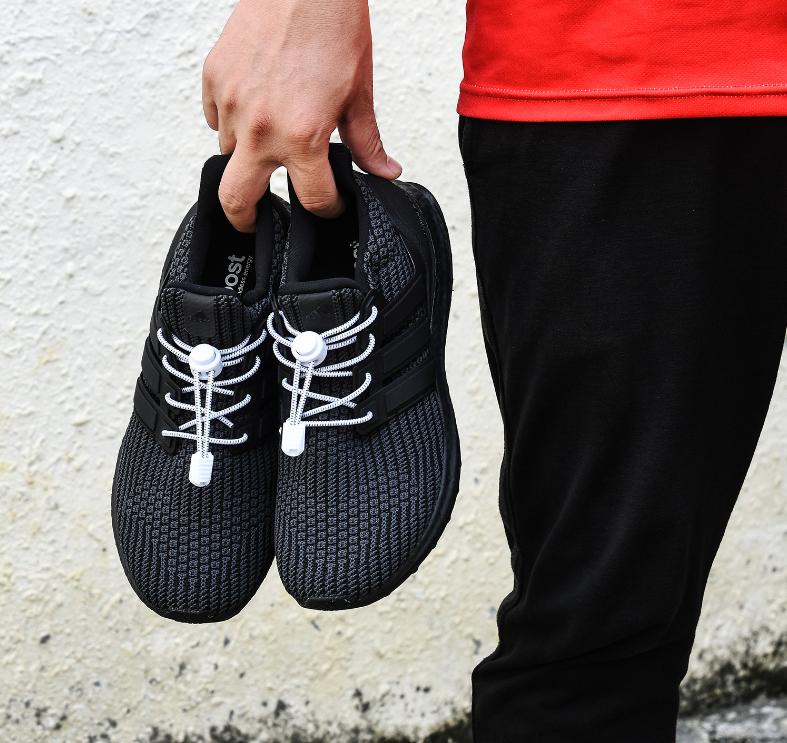 Эластичные шнурки для детской и взрослой обуви. Резиновые шнурки с фиксатором. Цветные ленивые шнурки