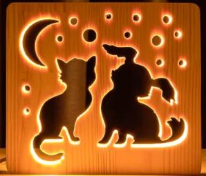 Дитячі нічні лампи