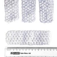 Повязка на голову детская, БЕЛАЯ, 14х4 см