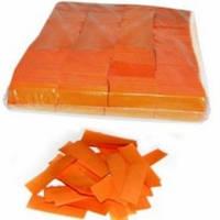 Бумажная нарезка конфетти 4108 - ОРАНЖЕВЫЙ СНЕГ
