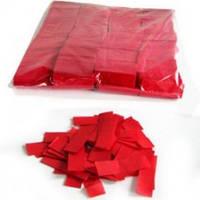Металлическая нарезка конфетти 4201 - КРАСНЫЙ  МАЙЛАР