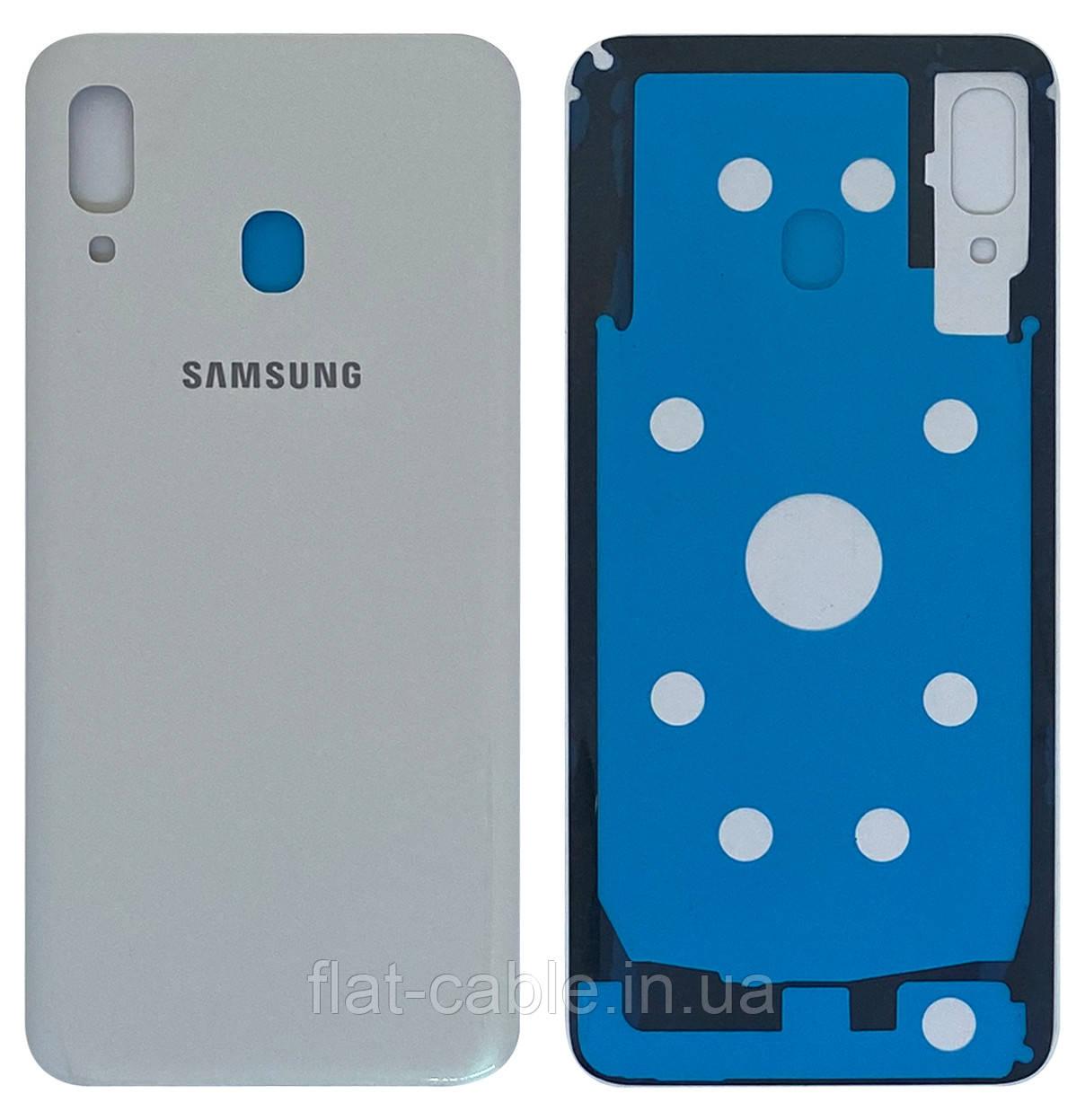 Крышка задняя Samsung A305 Galaxy A30 (2019) Белая
