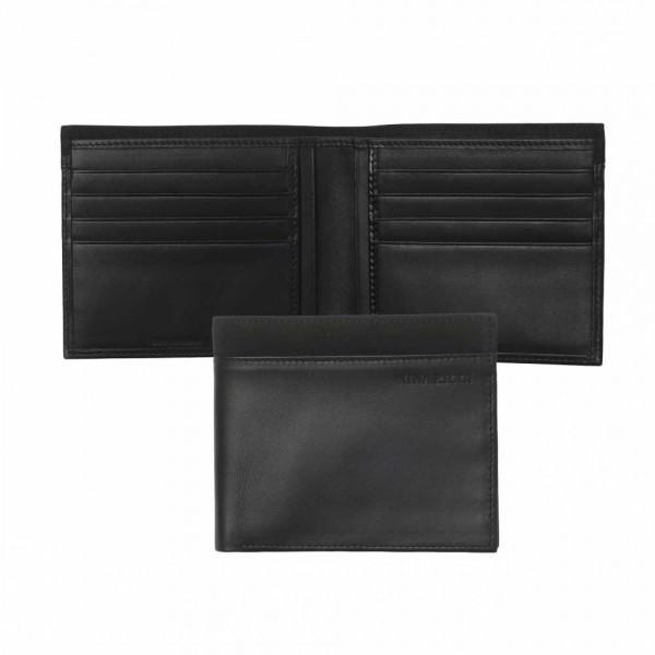 """Гаманець чоловічий шкіряний з кишенями для карток """"Contraste"""" від бельгійського бренда Distri-Brands"""