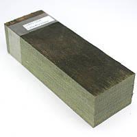 Оружейный ламинат GGR темно-зеленый 120х40х30мм, фото 1