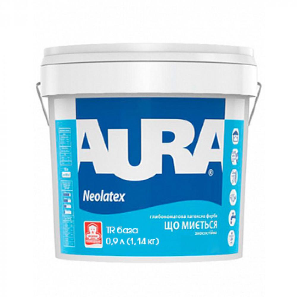 Фарба латексна AURA NEOLATEX інтер'єрна транспарентна - база TR 0,9 л