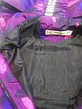 Ветровка для мальчиков ARMY фиолетовая, фото 3