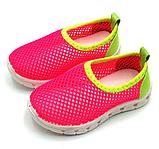 Кросівки дитячі сіточка червоні, фото 3