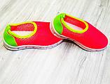 Кросівки дитячі сіточка червоні, фото 5