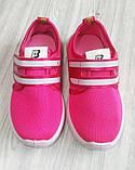 Кросівки дитячі BK малинові, фото 5