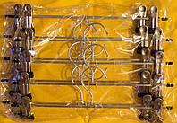 Вешалка щип железный с заливкой