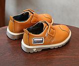 Туфлі дитячі PU-шкіра Frogprince помаранчеві, фото 3