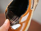 Туфлі дитячі PU-шкіра Frogprince помаранчеві, фото 5