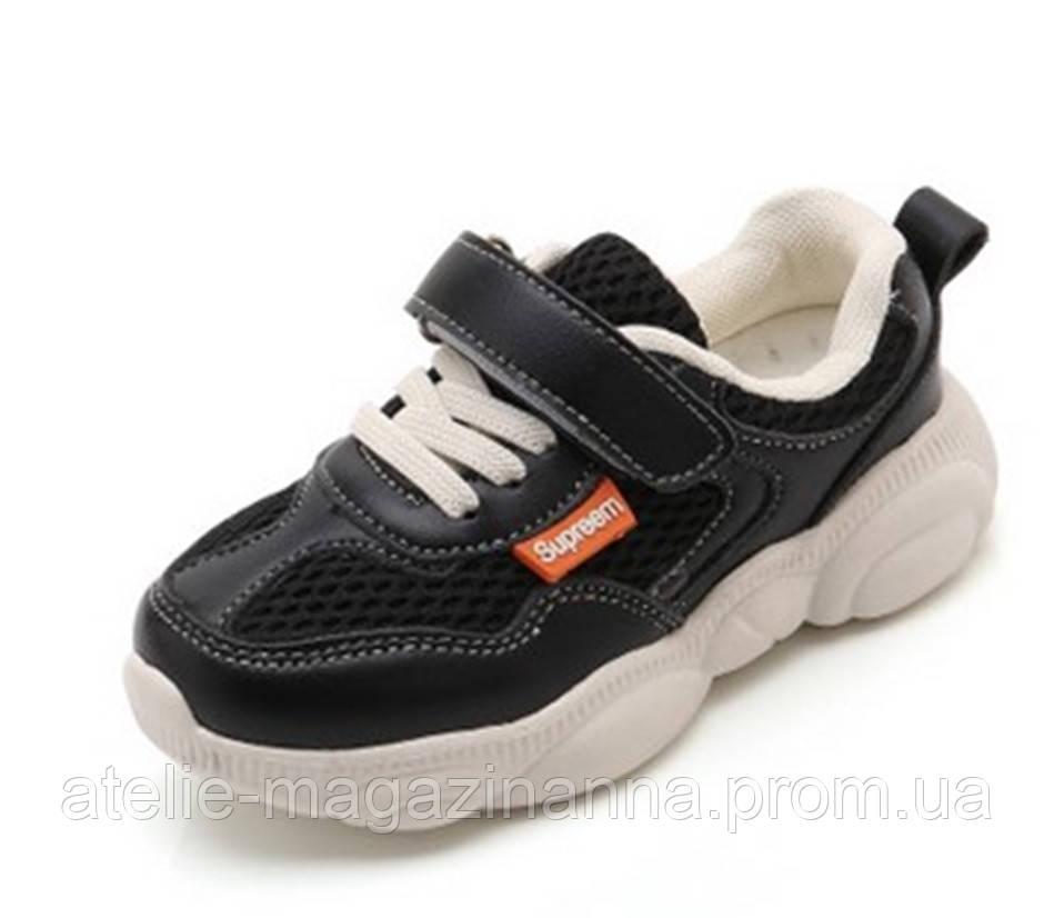 Кросівки чорні Supreem