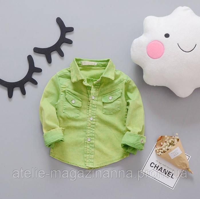 Сорочка зелена 2994