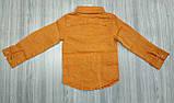 Рубашка оранж 2995, фото 2