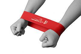 Фитнес-резинка PowerPlay 4114 Heavy Красная (500 * 50 * 1.2мм) - сопротивление 11кг