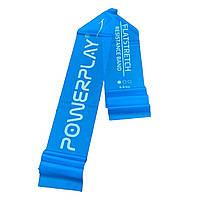 Лента-эспандер PowerPlay 4112 Light Синяя (200*15*0.4мм, 6.8кг)