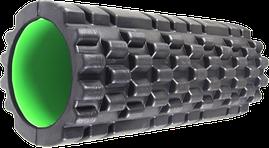 Массажный ролик Power System Fitness Foam Roller PS-4050 Black/Green
