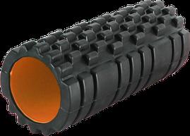 Массажный ролик Power System Fitness Foam Roller PS-4050 Black/Orange