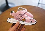 Босоножки детские MG розовые, фото 5