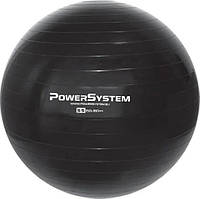 М'яч для фітнесу і гімнастики Power System PS-4011 55cm Black